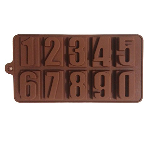 Ourz Silicone Chocolate Mould / Ice Mould / Sweet Mould – NUMBERS 0-9