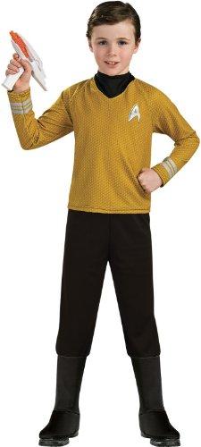 rk Deluxe Kostüm für Kinder, Größe:L (Star Trek Halloween Kostüm)