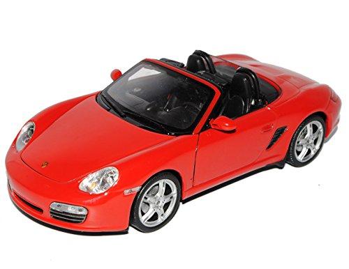 porsche-boxster-s-987-cabrio-offen-rot-2004-2012-1-24-welly-modell-auto