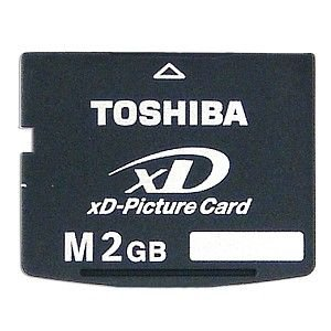 Toshiba xD-Picture Card - Type M - 2 GB Speicherkarte