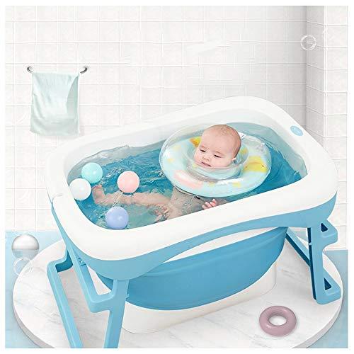 Badewanne faltbare Baby Badewanne Falten Neugeborenen Badewanne Eimer Baby Dusche Faltbare Rutschfeste Badewanne Sicherheit Sicherheit (Falten Baby Wanne)