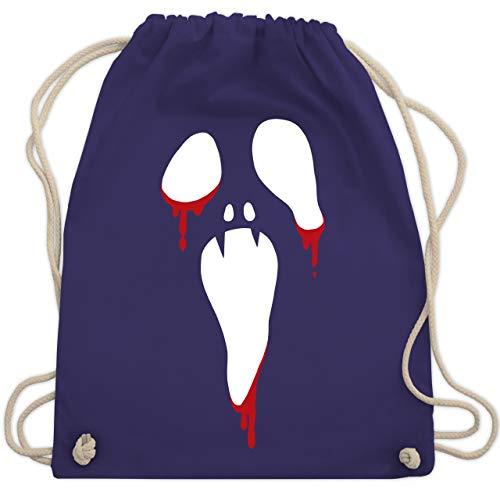 Halloween - Scream Halloween - Unisize - Lila - WM110 - Turnbeutel & Gym Bag