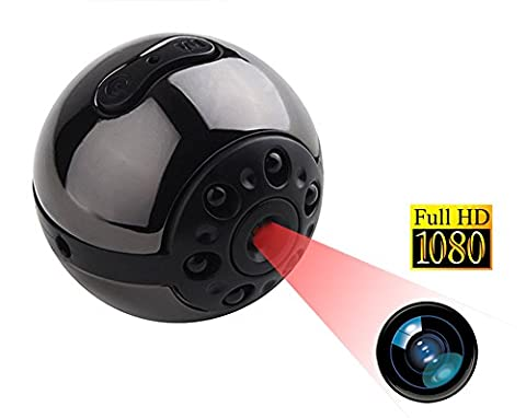 Tangmi 1080P HD Mini-Kamera, 12 Millionen Pixel kleine Kamera DVR