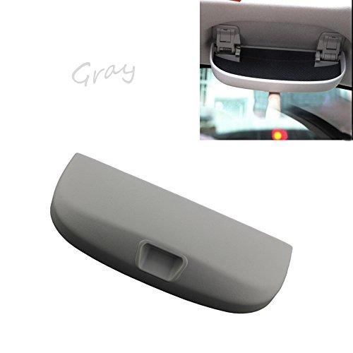 tbparts Auto Inner Front Sonnenbrille Halter Brille Fall Box für A B C E Class GLA GLC GLK CLSAufbewahrungsbox Sonnenbrillen (Gray)