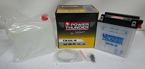 Batería Power Thunder 12V/11ah YB10L-B con Ácido a Corredo