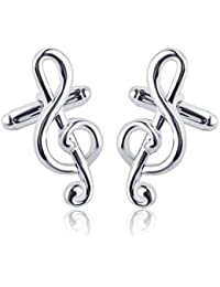 TBOP CUFFLINKS THE BEST OF PLANET Simple And Stylish Cufflinks For Unisex Jewelry French Cufflinks In Silver Color...