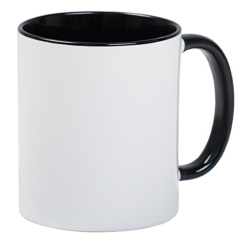CafePress?Lynette Instant Mug?Unique Mug à café, tasse à café Small White/Black Inside
