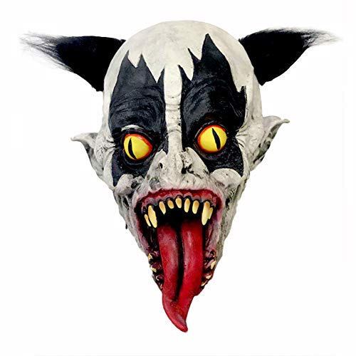 Halloween-Maske Weihnachts-Latex-Maske, Lustiger Clown-Horror, Variations Clown