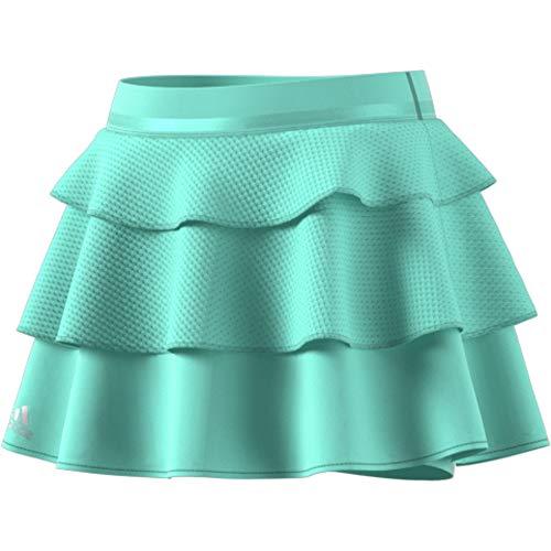 adidas Mädchen Frill Tennisrock, Clear Mint, 140