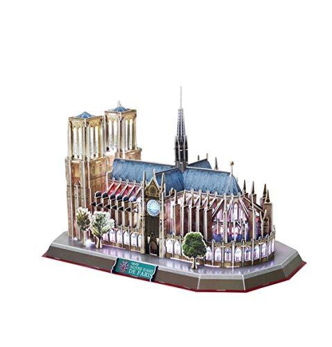 Notre-dame-artwork (Notre Dame 3D Puzzle & Spaß Puzzle Puzzle & üBung FüR Kinder Und Erwachsene & Gestalten Von Kunstwerken & Eltern-Kind-Interaktion)