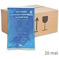 KK-Hygiene Kalt-Warm Kompressen Mehrfachkompresse 16 x 26 cm (20 Stück) mikrowellengeeignet preisvergleich bei billige-tabletten.eu