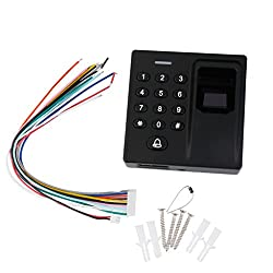 Generic Fingerprint Card Reader Access Door Lock Control System Security Entry