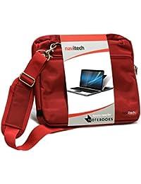 Navitech sacoche rouge pour ordinateur PC portable format 15.6'' pouces tels que Acer Aspire E1-571 / Aspire E1-532 / Aspire E1-532P / Aspire E1-572 / Aspire E1-570 / Aspire E1-530 / Aspire E1-532 / Aspire E1-510 / Aspire E1-572P / Aspire V7-581PG / Aspire V7-581