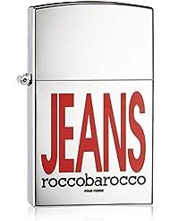 rocc OBA Rocco Silver Jeans Eau de Parfum 75ml Spray pour vous, 1er Pack (1x 75ml)