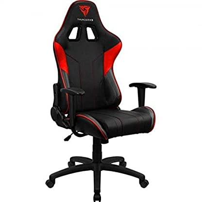 ThunderX3 EC3, siilla gaming tecnología AIR, reclinable, cojín lumbar, rojo