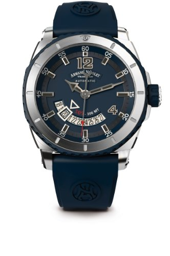 armand-nicolet-mens-automatic-watch-with-blue-dial-analogue-display-and-blue-rubber-strap-a710agu-bu