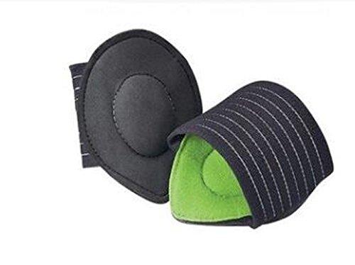 Gudelaa Extradicke Gepolsterte Kompressionsbalkenstütze mit Mehr Gepolsterten Komfort für Flache und Achy Füße Unisex (Grün)