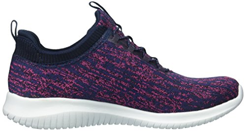Skechers Ultra Flex-bright Horizon, Allenatori Donna Blu (rose Marine)