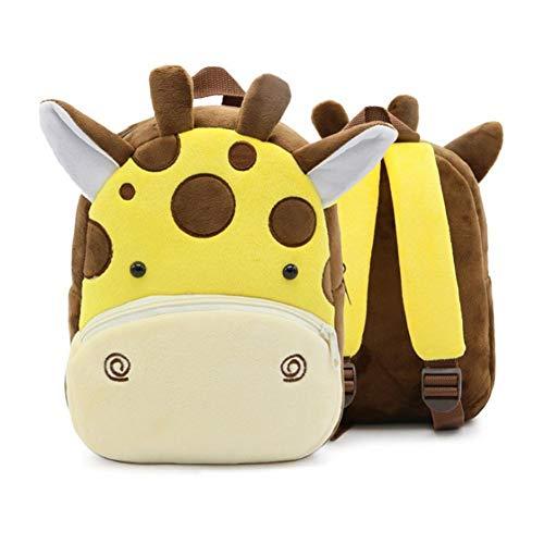 Kleine Kleinkind Kinder Rucksack Plüsch Tier Cartoon Mini Kinder Tasche für Baby Mädchen Junge Alter 1-3 Jahre - Biene