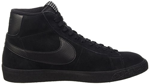 Nike Herren Blazer Mid Prm Vntg Gymnastik Negro / Marrón (Black / Black-Gum Light Brown)