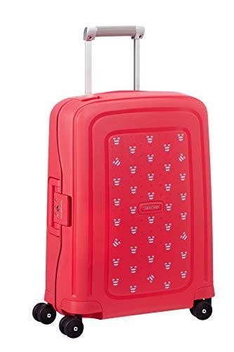 Samsonite S'Cure Koffer, 55 cm, 34.0 Liter, Mickey Summer Red