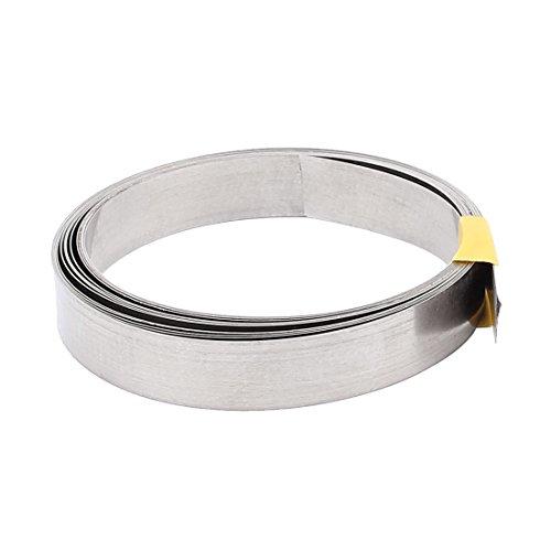 sourcingmap® 3Meter 10Ft 0.2x12mm Nichrome Flach Heizkörper Draht Heiz elemente