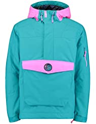 O 'Neill 88' Frozen Wave Anorak Jacket, hombre, 88' frozen wave anorak, Bondi Blue