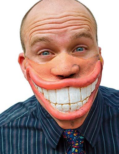 Maske aus Latex - Partymaske Big - Big Smile Kostüm