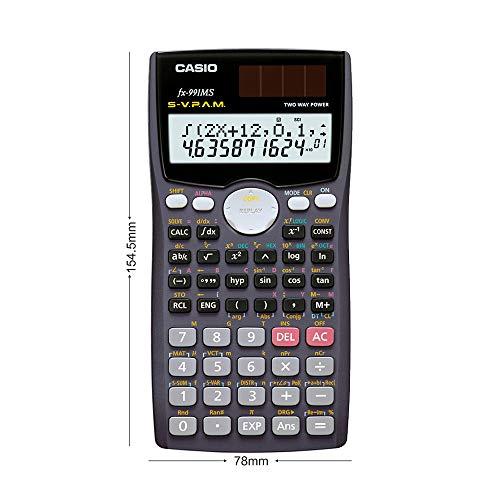 Casio FX-991MS Scientific Calculator (Gray)