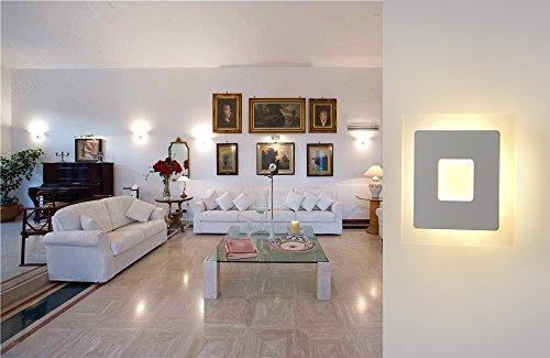 Topmo plus 18w lampada da parete a led applique ideale per camera da