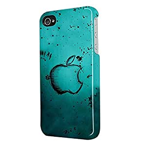 Instyler DIGITAL PRINTED 3D BACK COVER FOR I PHONE 4S