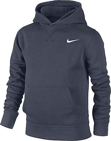 Nike Ya76 Sweat-shirt à capuche Enfant Obsidian/Blanc FR : XL (Taille Fabricant : XL)