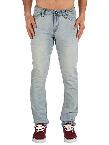 Volcom 2X4 DENIM, Jeans da Uomo Sure Shot Light Wash