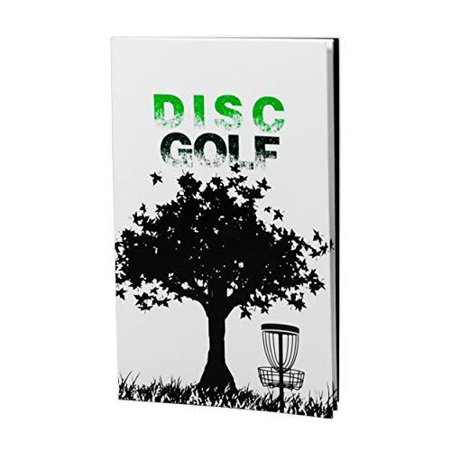 CardNoter Disc Golf Scorekeeper Notizbuch, 110 Runden, für 6 Spieler, perfekt gebunden