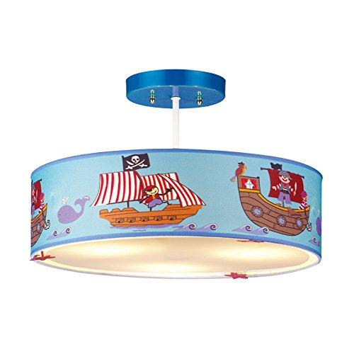 Moderne kreative Kinder Zimmer Lichter kreative LED Jungen warm Schlafzimmer Lichter mediterrane Persönlichkeit Piraten Zimmer Kronleuchter