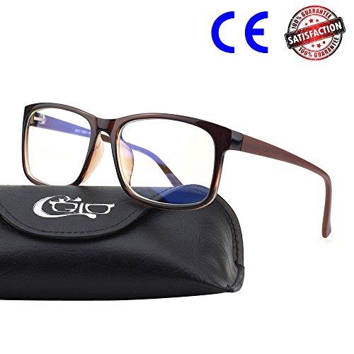 CGID BL12 Blaulichtfilter Computerbrille Blockierung Blaues Licht
