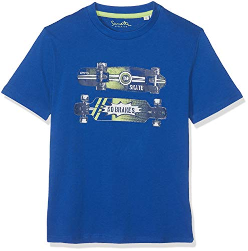 Sanetta Jungen T-Shirt Blau (Blue Air 50298) 104