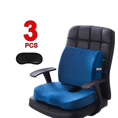Rocita Mesh Back Lumbar Support Massage Beads for Car Seat Chair Massage Cushion