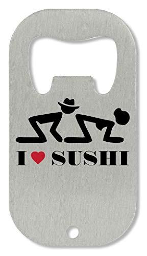 OpenWorld I Sushi Funny Retro Fashioned Slogan Flaschenöffner