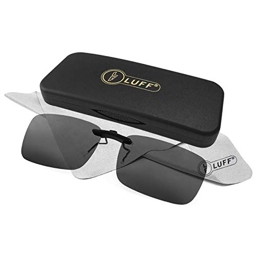 55c6278ed7 LUFF Polarizado Clip Unisex Gafas Sol Anteojos Recetados-Buen