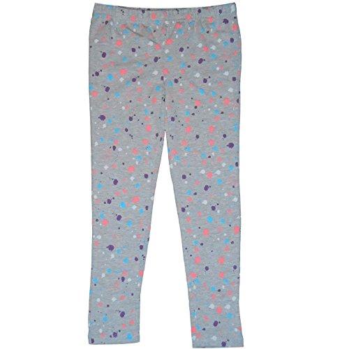 Disney minnie - leggings bambina cotone grigio (8 anni)