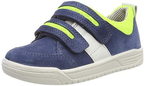 Superfit Jungen Earth Sneaker,Blau (Blau/Grün 81), 31 EU