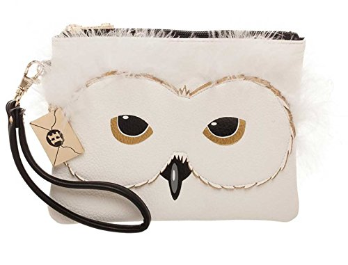 Harry Potter Purse Hedwig face clutch with charm Nue offiziell -