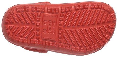 Crocs Hilo Clog K, Sabots Mixte Enfant Rouge (Flame)