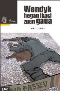 Portada del libro Wendyk hegan ikasi zuen gaua (Taupadak)
