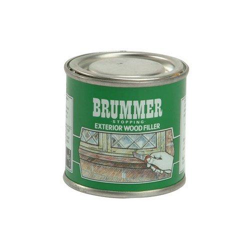 Brummer Green Label Holzkitt für außen, Mahagoni dunkel