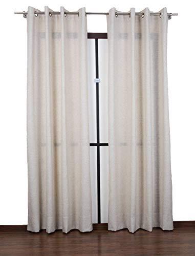 2 tende finestra soggiorno/camera cm 160x295 - tessuto misto lino