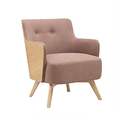 YQQ-Faules Sofa Nordische Moderne Einfach Sofa Stuhl Sessel Lounge-Sessel Kaffeestuhl Bürostuhl Wohnzimmer Schlafzimmer Freizeitort