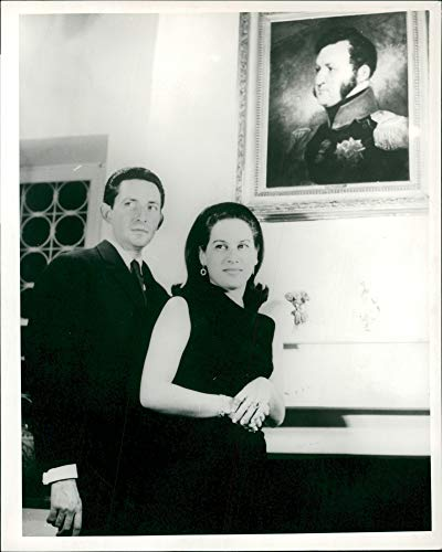 Fotomax Vintage Photo of Prince Michael of Greece and Wife