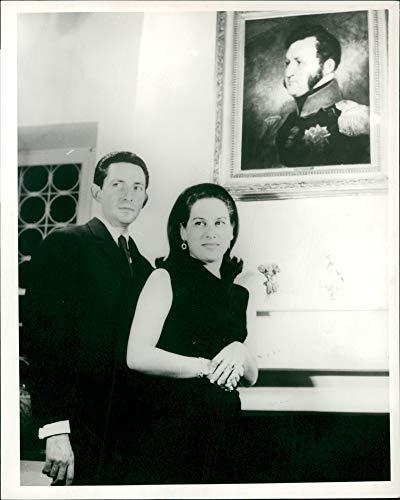 Fotomax Vintage Foto del Príncipe Miguel de Grecia y Esposa